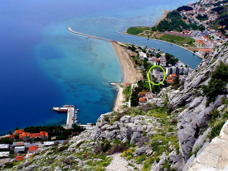 Beach apartment, vacation rental in Omis