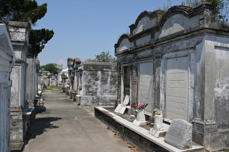 take the Canal street car home and tour some of the many historic cemeteries in the Mid-City area