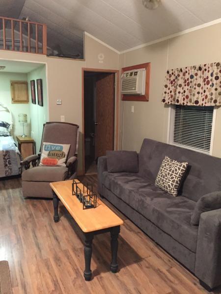Mountain Laurel tiny Cabin near Tallulah Gorge, holiday rental in Toccoa