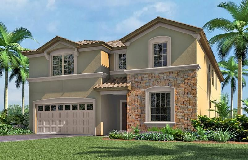 New 9br/6ba pool villa from $280/nt,Close to Disney, alquiler de vacaciones en Kissimmee