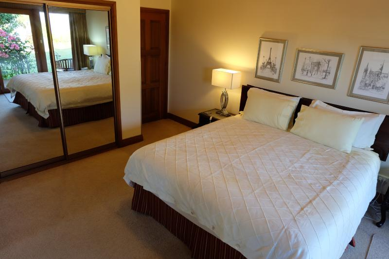 Large King Bedroom with dressing room
