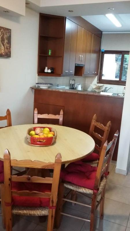 Enjoy Mediterranean food on the Dining table!!!