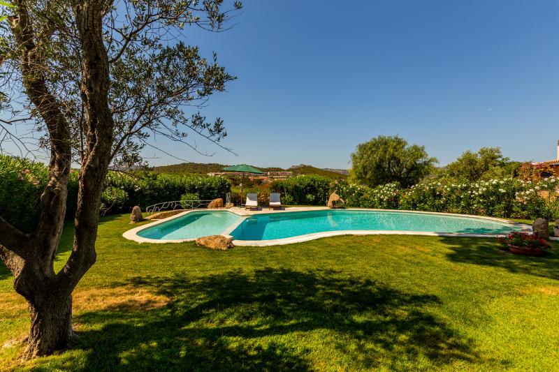 Aktualisiert villa immersa in un grande giardino con