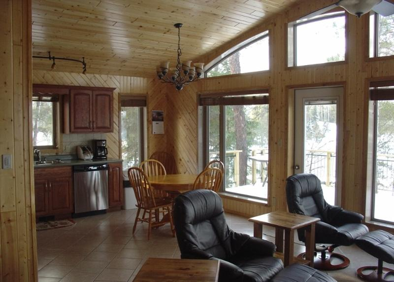 Deluxe Winter Cabin Rental On Lake Of The Woods UPDATED