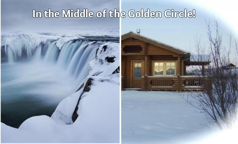 Due to the cabin's location in the middle of the Golden Circle, it is fantastic for one-day trips