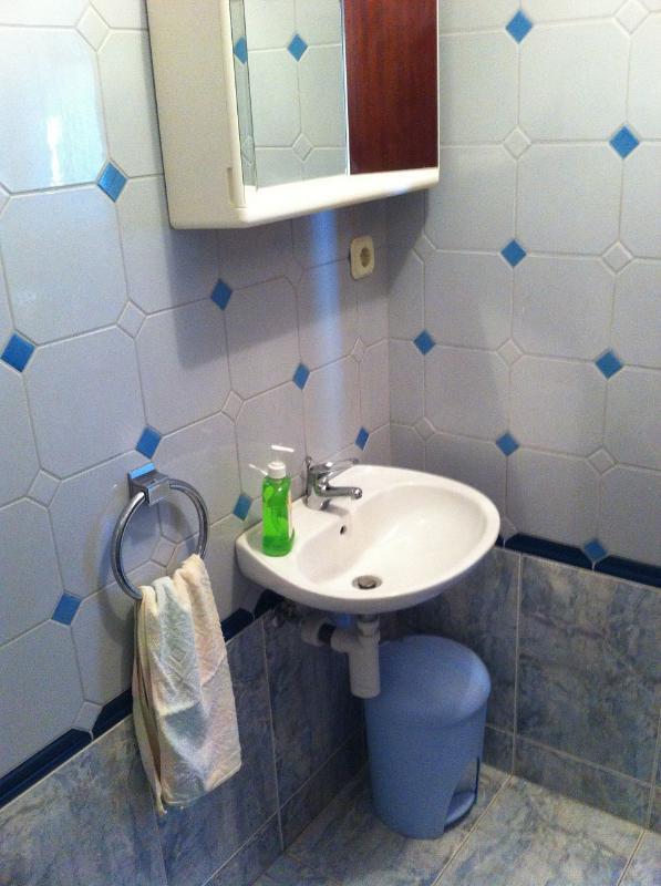 A (2 + 2): banheiro com vaso sanitário