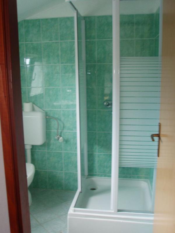 A1 potkrovlje(4+1): bathroom with toilet