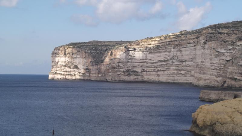 Xlendi Cliffs.