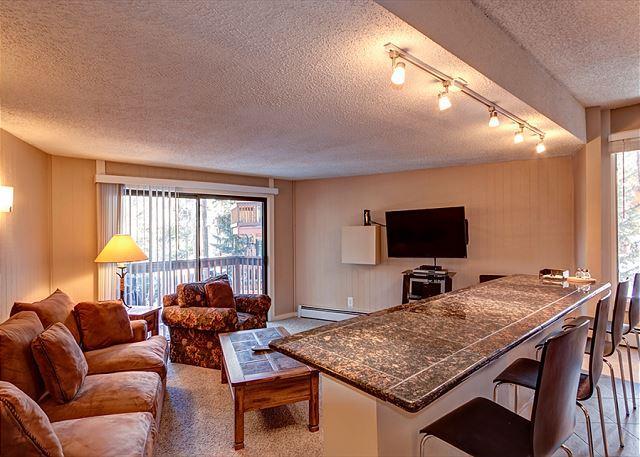 Peak 8 Village Living Room Ferienwohnung in Breckenridge