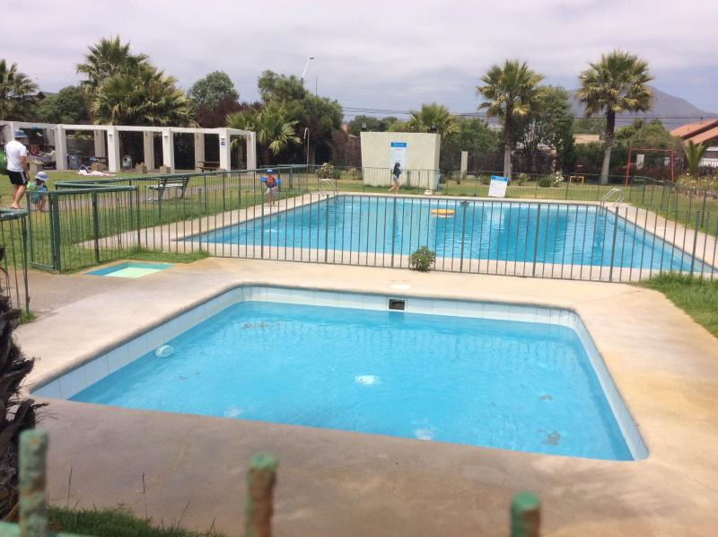 Swimming Pool and Quincho area