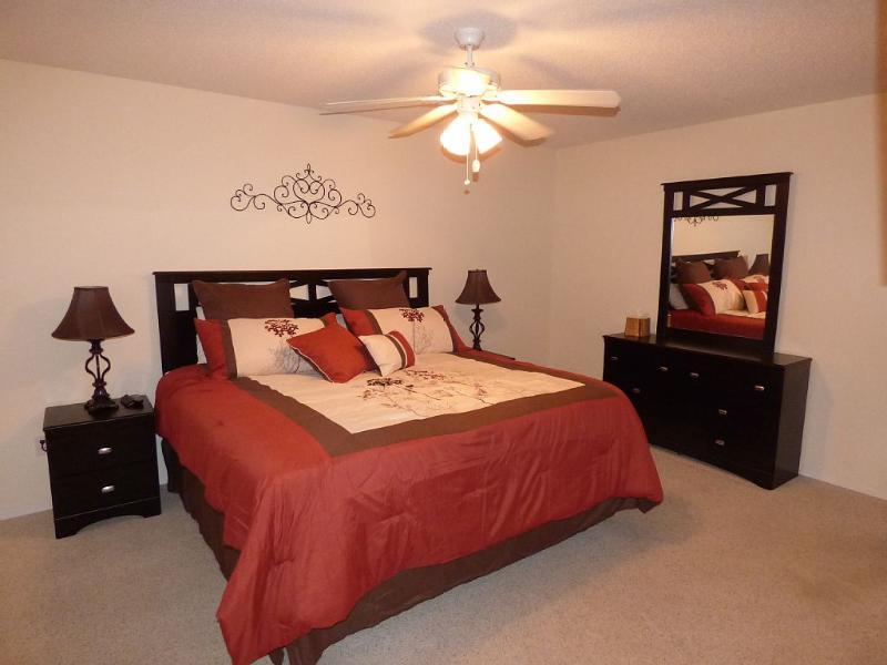 Chambre à coucher principale - King Bed