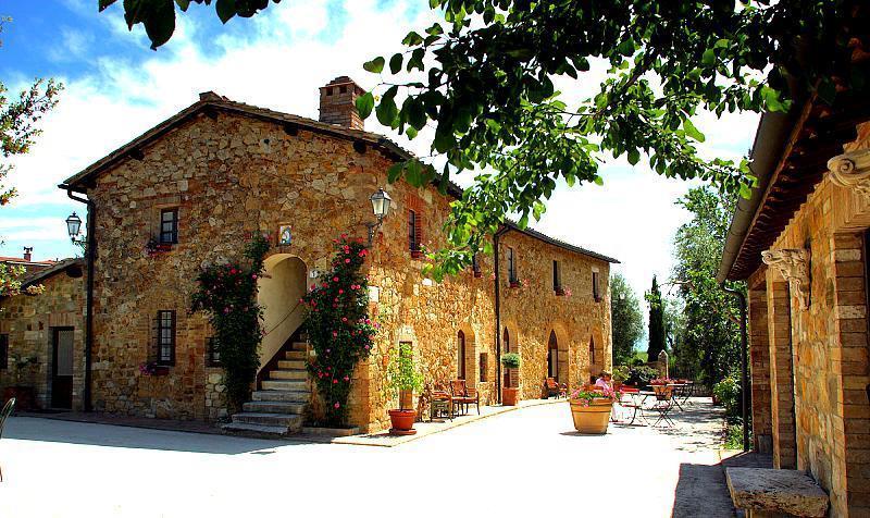 quinta externa em Val d'Orcia - Toscana / Fachada