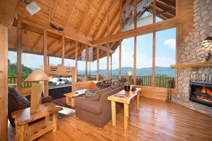 Your first step in the door has you hooked, the view is breathtaking!