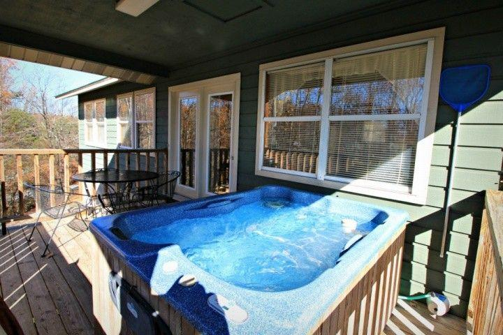 Balcony Overlooking Mountainside with Dining Furniture and Grill for Grilling Outdoors!