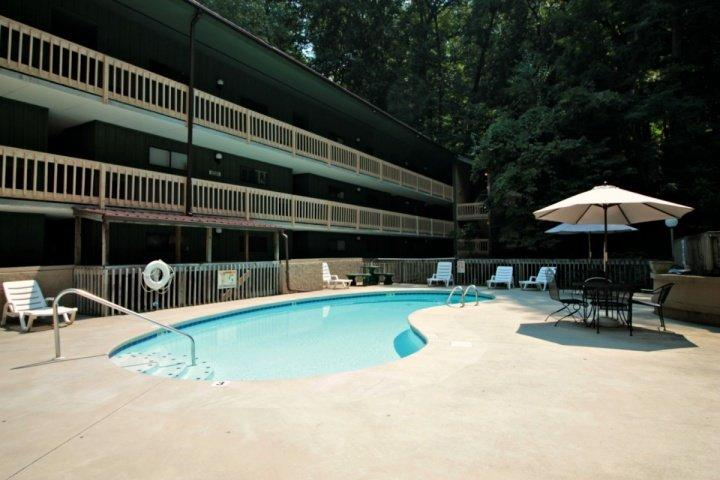 Swim a Few Laps or Just Lounge Outdoors and Relax by the Mountain Stream