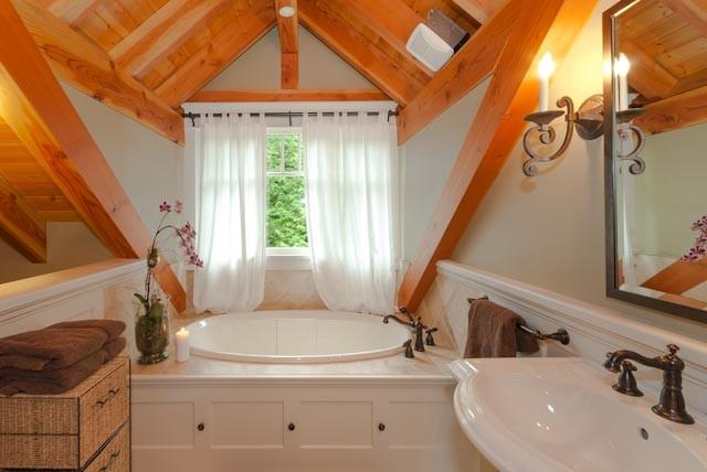 Loft bathroom.