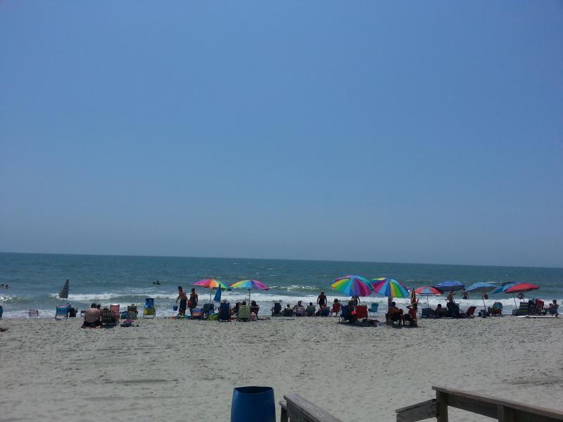 Plenty of room on the beach.