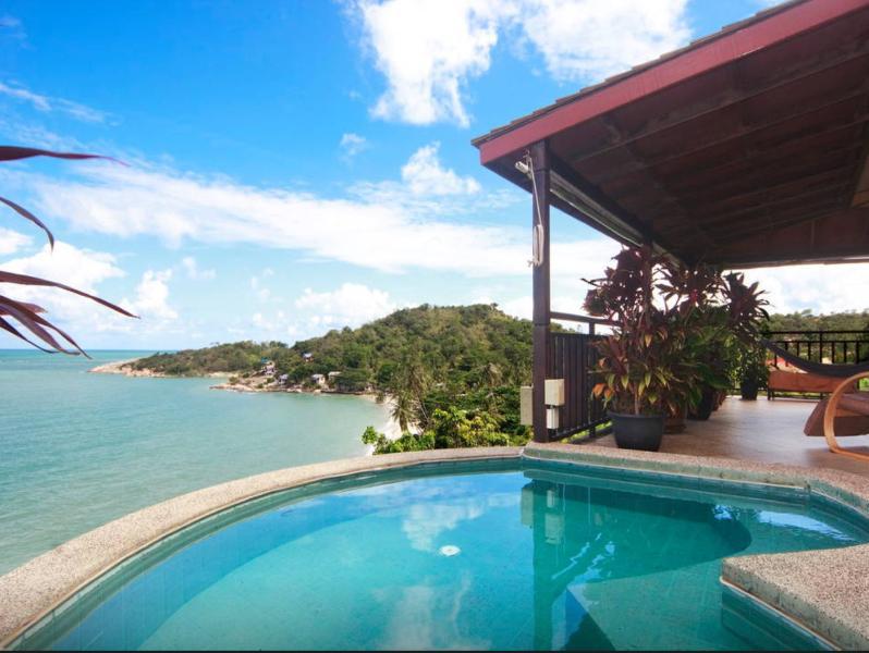 1 Bedroom Sunrise Sea View Villa, alquiler vacacional en Plai Laem