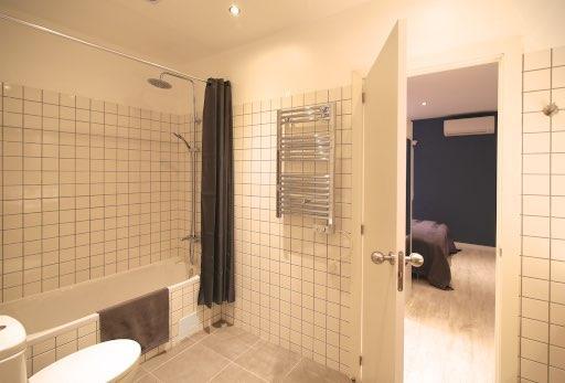 Suite's bathroom.