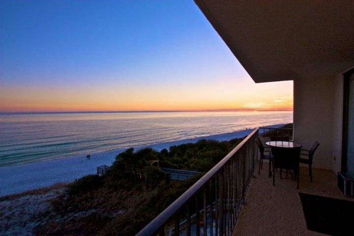 Enjoy the Beautiful Sunsets over the Gulf of Mexico from the Balcony