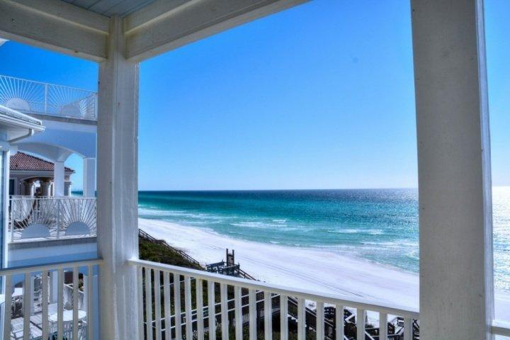Visit Dreams Come True, a gorgeous five bedroom beachfront home on the beautiful Seacrest Beach!