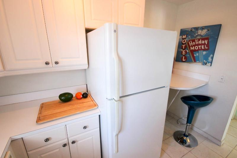 Ice maker and breakfast area