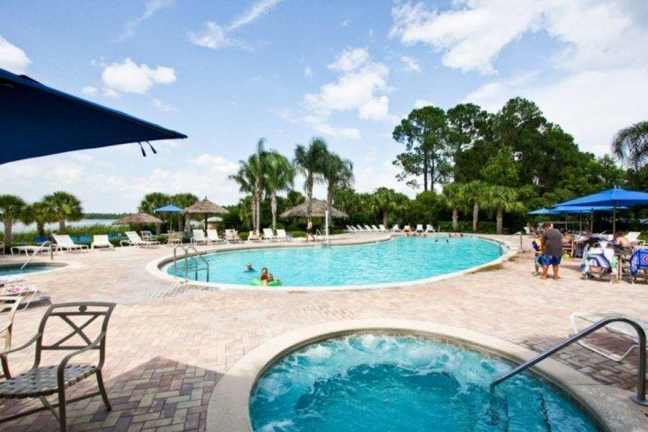 Pool side at Bahama Bay Resort and Spa