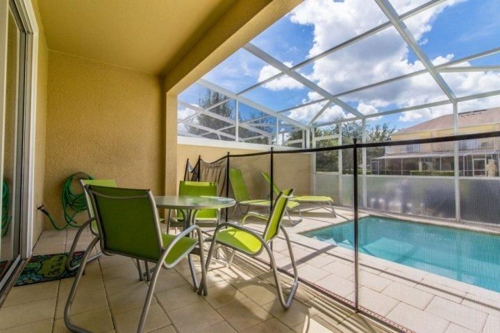 Private Lanai w/Splash Pool, Seating for 4 & Two Sun Loungers