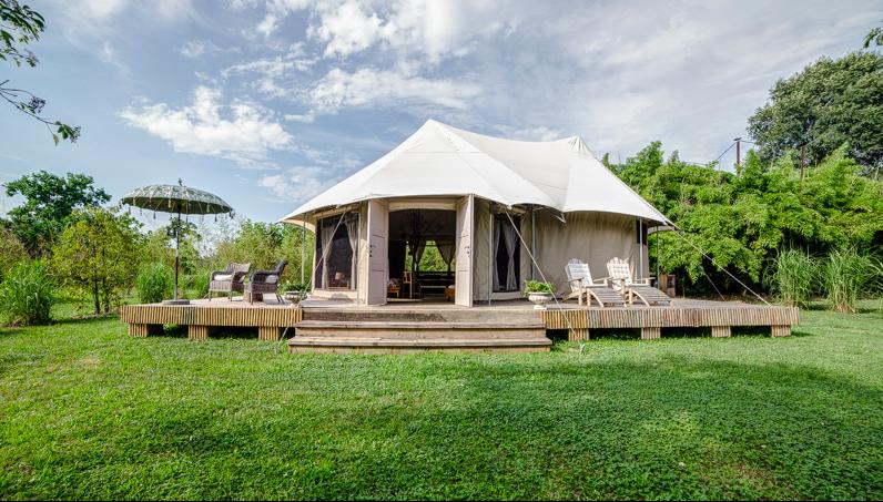 Charming Tents Retreat Venice, vacation rental in Mirano