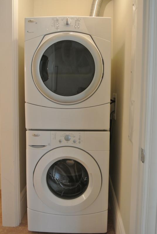 En la suite servicio de lavandería para limpiar su ropa de playa (o cualquier otra cosa).