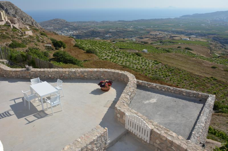 Panoramic Countryside and Sea View