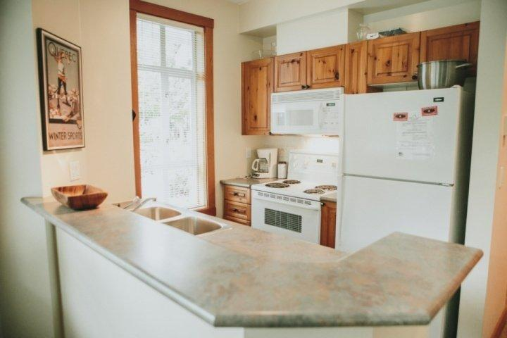 Functional well equiped kitchen