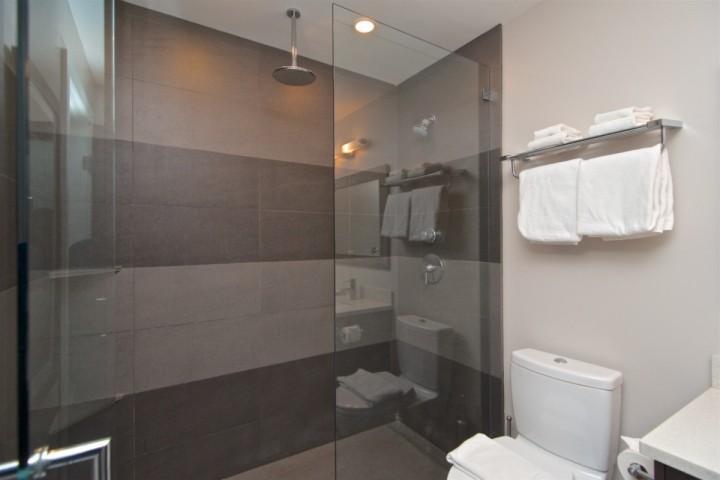 Ensuite Bathroom, over-sized fully tiled custom shower