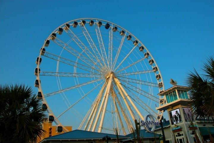 Imagine-se no Myrtle Beach SkyWheel! Tire férias Myrtle Beach agora!