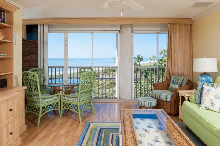 Beautiful Unit 302 at Kimball Lodge - Great view of the gulf beach just steps away.  We provide beach towels and umbrella as well!