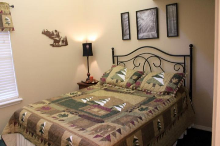 Master Suite with Queen Size Bed.