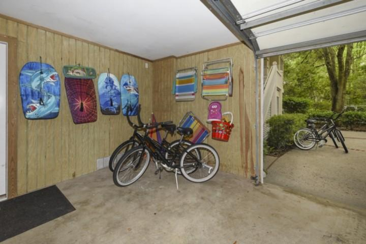 Bikes, Boogie Boards and Beach Chairs - All for your use!