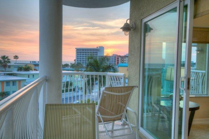 Playa Vista desde el balcón privado