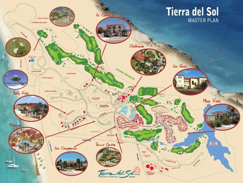 Kaart van Tierra del Sol