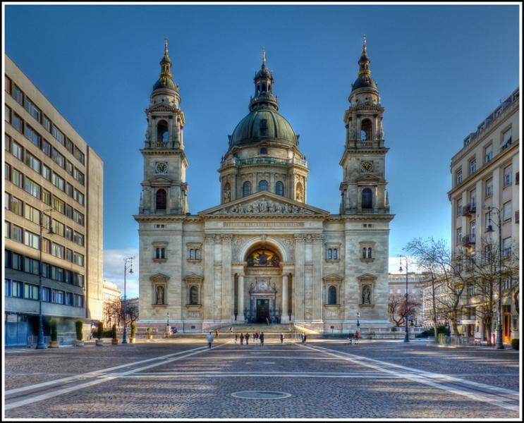 Immediate neighbourhood - the Bazilika