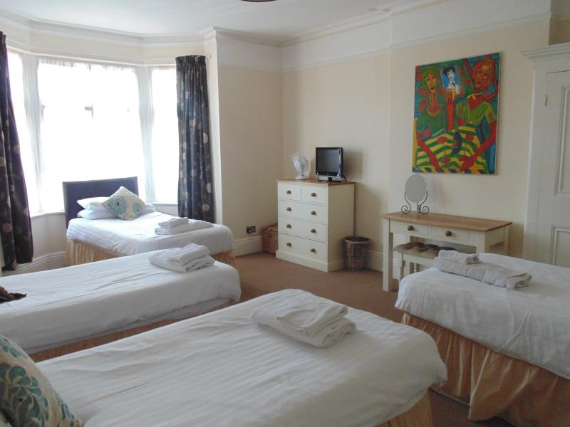 Bedroom 5 - Quad room with ensuite - can be double and 2 singles or 4 singles