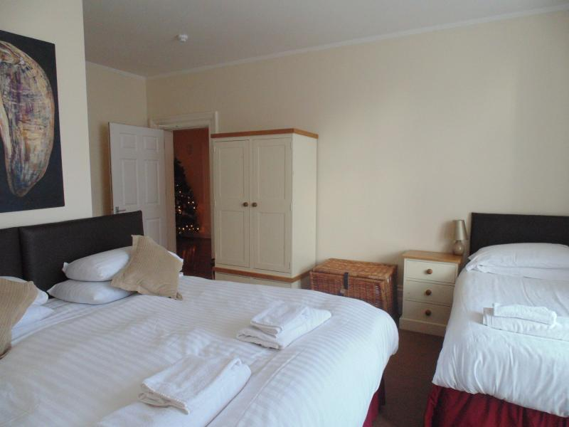 Bedroom 1 - Triple ensuite room - can be double and single or 3 single beds