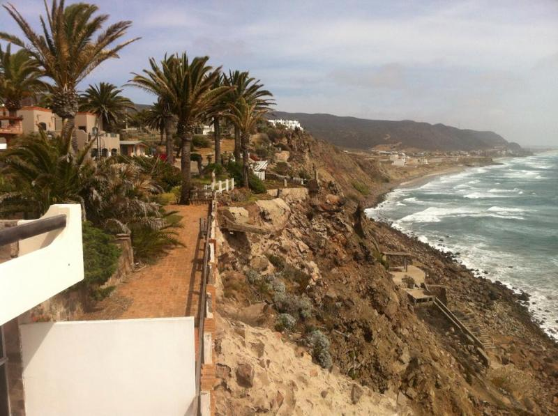 Cliff side balcony - South