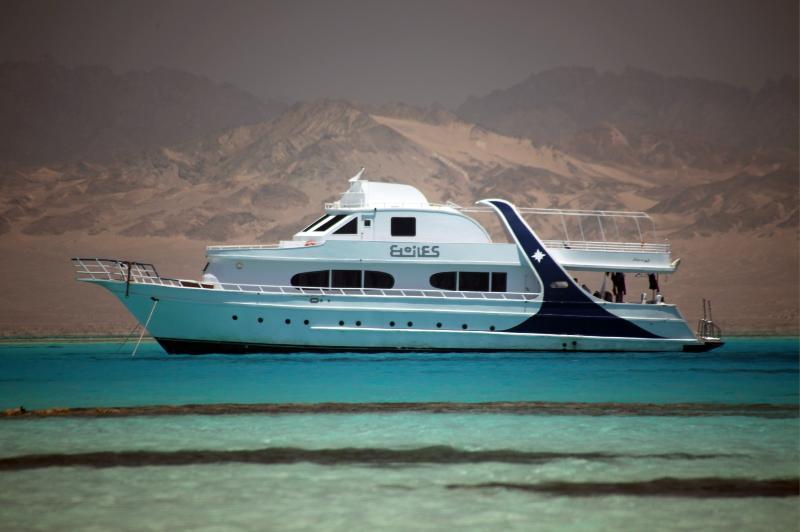 Etoiles è l'unica imbarcazione in Egitto di proprietà e gestita direttamente da Italiani.