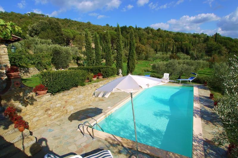 Villa Eugenio, villa walk to village (9 people), vacation rental in Piazzano