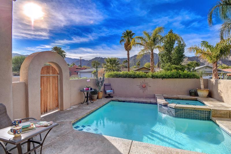 Heated, Private Pool & Spa With The Santa Rosa Mountains In Background