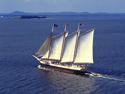 Windjammer cruise on the Penobscot Bay out of Belfast