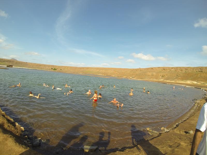 Salt lake at Pedra de Luma
