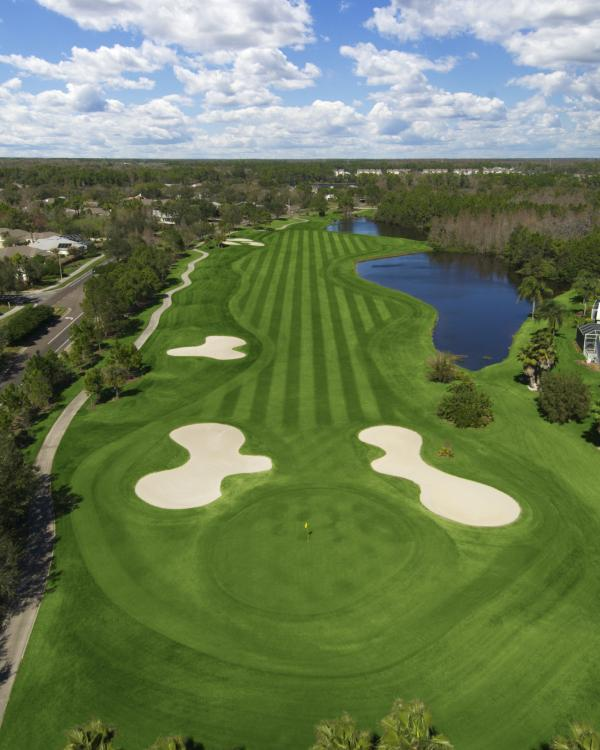 Westchase golf course is 5 miles away