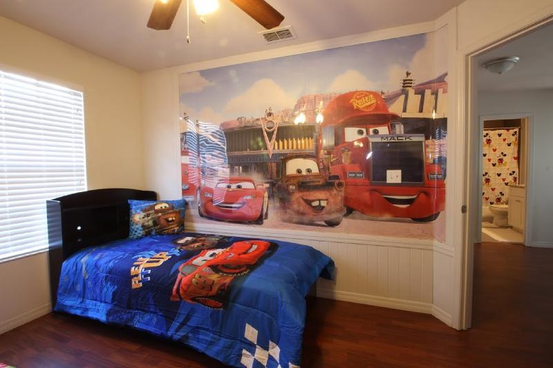 Cars Themed Room